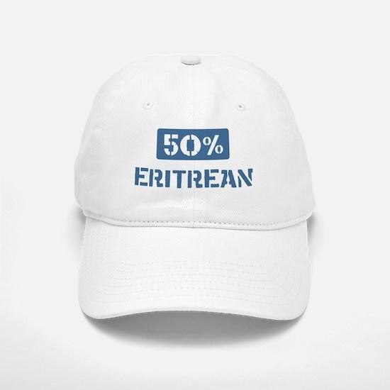 50 Percent Eritrean Baseball Baseball Cap