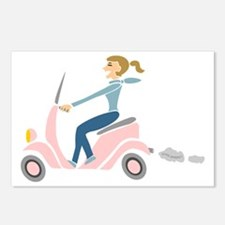 Scooter Girl Postcards (Package of 8)