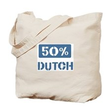 50 Percent Dutch Tote Bag