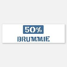 50 Percent Brummie Bumper Sticker (10 pk)
