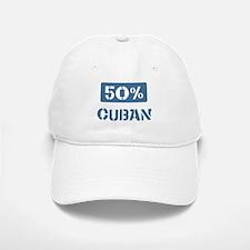 50 Percent Cuban Baseball Baseball Cap