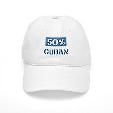 50 Percent Cuban Baseball Cap