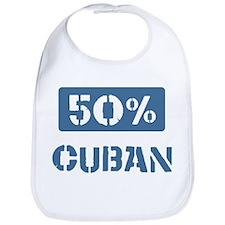 50 Percent Cuban Bib