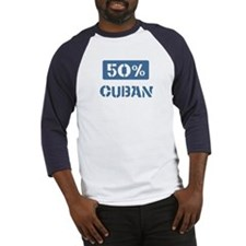 50 Percent Cuban Baseball Jersey