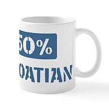 50 Percent Croatian Mug