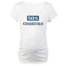 50 Percent Croatian Shirt