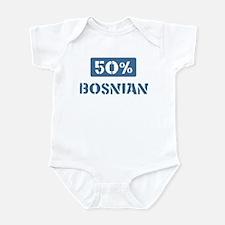 50 Percent Bosnian Infant Bodysuit