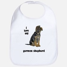 German Shepherd Love Bib