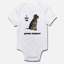 German Shepherd Love Onesie