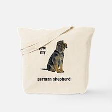 German Shepherd Love Tote Bag