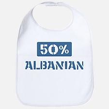 50 Percent Albanian Bib