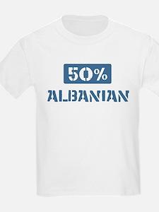 50 Percent Albanian T-Shirt