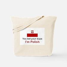 Polish Dupa Tote Bag