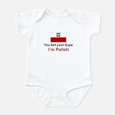 Polish Dupa Infant Bodysuit
