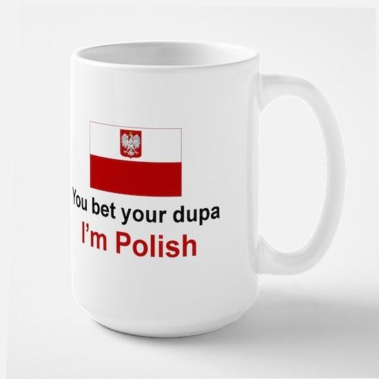 Polish Dupa Large Mug