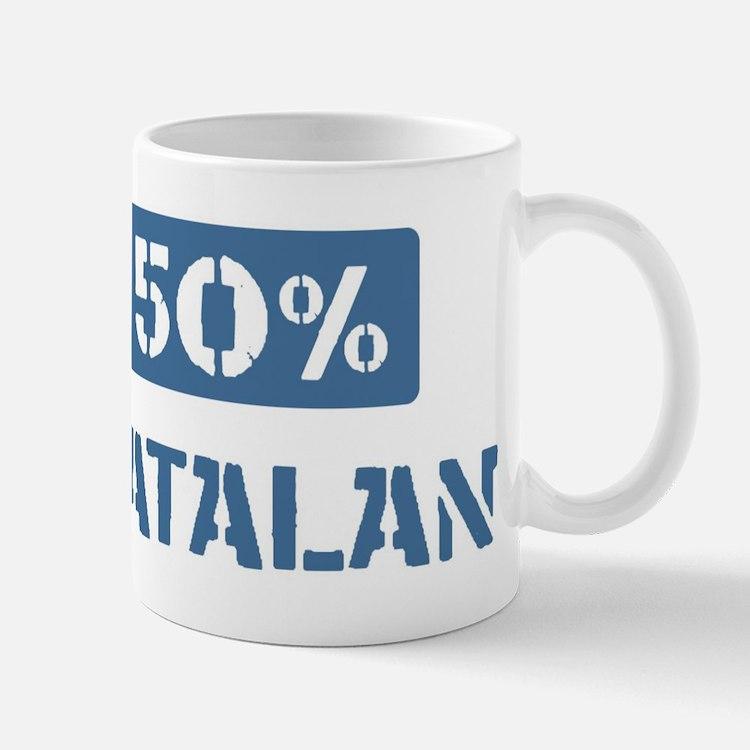 50 Percent Catalan Mug