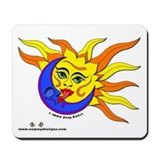 Sun & Moon - Mousepad
