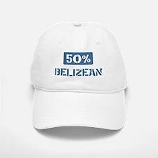 50 Percent Belizean Baseball Baseball Cap