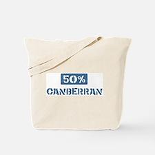 50 Percent Canberran Tote Bag