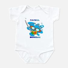 I'd Rather be Snorkeling Infant Bodysuit