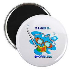 I'd Rather be Snorkeling Magnet