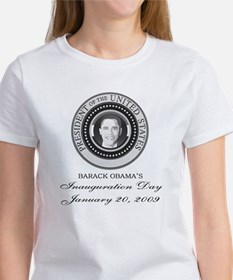 OBAMA SHOPS: Women's T-Shirt