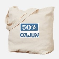 50 Percent Cajun Tote Bag