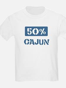 50 Percent Cajun T-Shirt