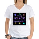 The Space Movement Women's V-Neck T-Shirt