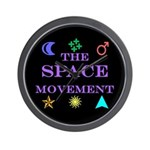 The Space Movement Wall Clock