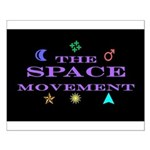 The Space Movement Small Poster