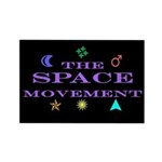 The Space Movement Rectangle Magnet