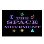 The Space Movement Postcards (Package of 8)