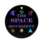 The Space Movement Ornament (Round)