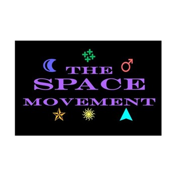 The Space Movement Mini Poster Print