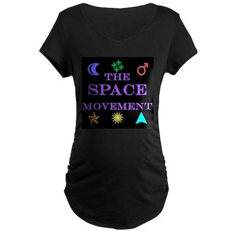 The Space Movement Maternity Dark T-Shirt