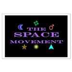 The Space Movement Large Poster