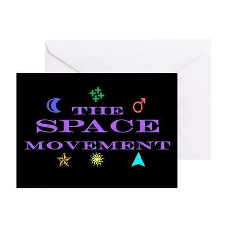 The Space Movement Greeting Cards (Pk of 10)