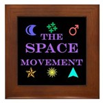 The Space Movement Framed Tile