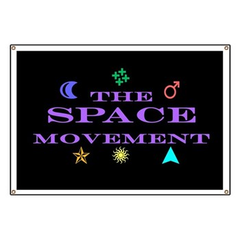 The Space Movement Banner