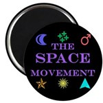 "The Space Movement 2.25"" Magnet (100 pack)"