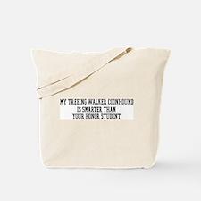 Smart My Treeing Walker Coonh Tote Bag