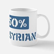 50 Percent Assyrian Mug