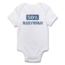50 Percent Assyrian Infant Bodysuit