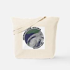 Satellite Hurricane Wilma Tote Bag