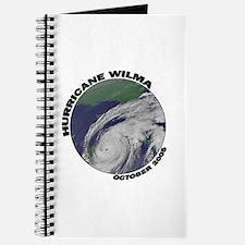Satellite Hurricane Wilma Journal
