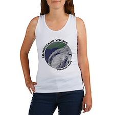 Satellite Hurricane Wilma Women's Tank Top