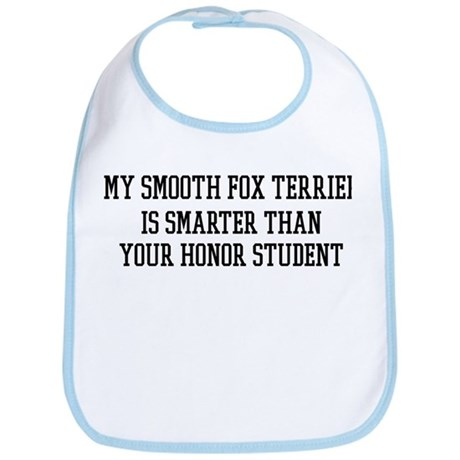 Smart My Smooth Fox Terrier Bib