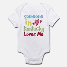 Someone in Kentucky Loves Me Infant Bodysuit