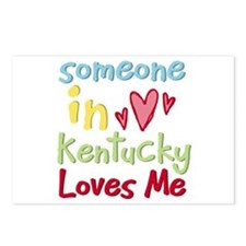 Someone in Kentucky Loves Me Postcards (Package of